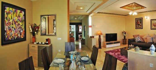 Aparthotel les oliviers suites spa f s maroc voir for Salon zen rabat tarifs