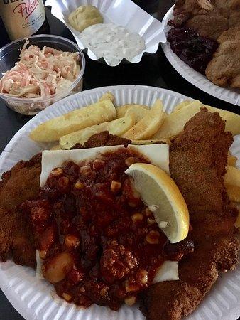Photo of German Restaurant Scheers Schnitzel at Warschauer Strasse Ecke Stralauer Allee, Berlin 10245, Germany