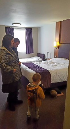 Premier Inn Tamworth Central Hotel: Room 15 on the ground floor