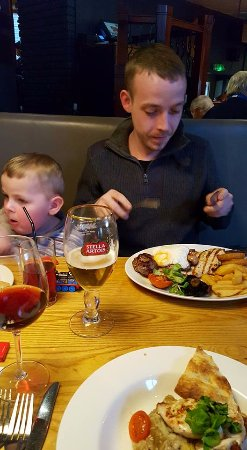 Premier Inn Tamworth Central Hotel: This was an evening meal at the Beefeater