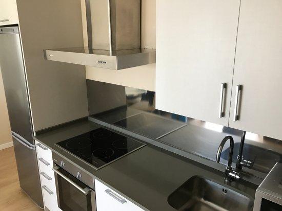 Apartamentos Ancora: cocina