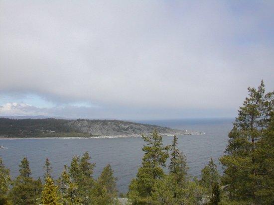 Härnösand, Suecia: View towards the sea by smitingen