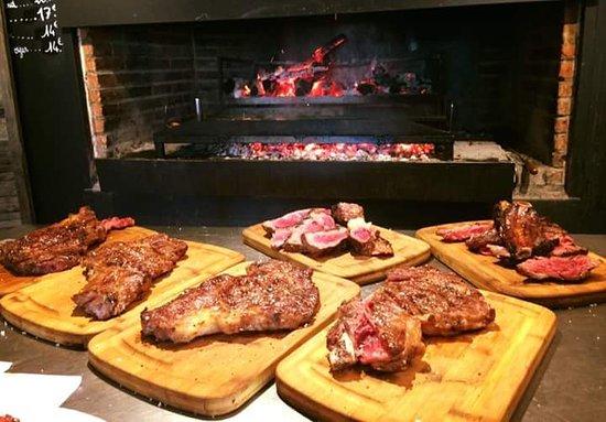 Restaurant le Toec: Les excellentes grillades au feu de bois du Toec.