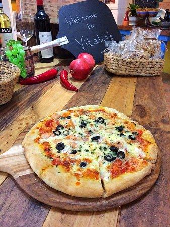 Holloways Beach, Australia: Delicious Real Italian food! 😍😋🍕🍷🇮🇹