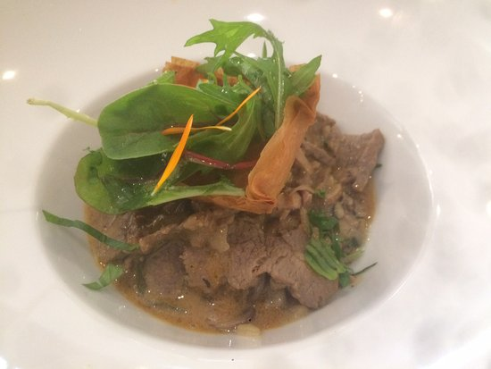 Piccata de boeuf risotto forestier picture of for Cash piscine brive