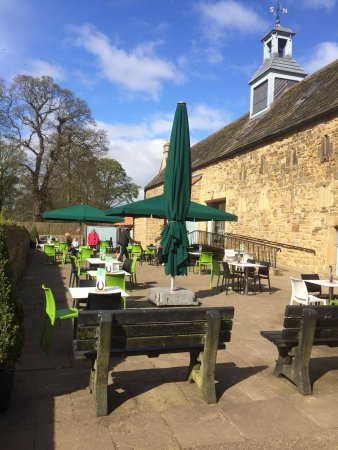 Hardwick Hall and Gardens: Great Barn Restaurant