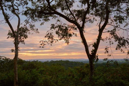 Amber Sunset Jungle Resort : View of the sunset.