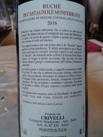 Castagnole Monferrato, Italy: il Ruchè