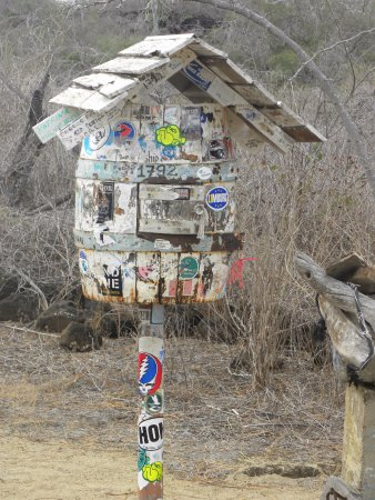 Post Office Bay, Floreana Island, Galapagos