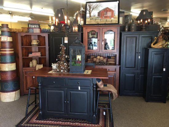 Amish Made Black Michael S Cherry Furniture Picture Of Kc