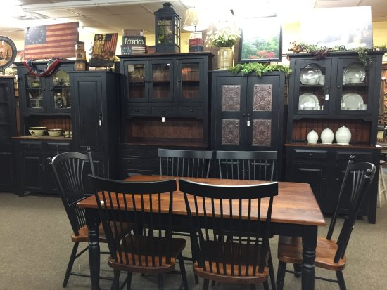 KC Collections: Amish Made Black Furniture