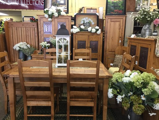 KC Collections: Amish Made Honey Leaf Furniture