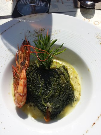 Cleres, France: Timbale de poisson