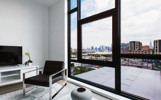 Dharma Home Suites Hoboken At Novia: Two Bedroom Apartment   Manhattan View