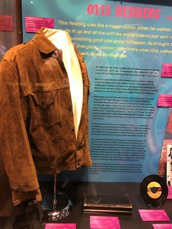 Stax Museum of American Soul Music: Otis Redding's suede jacket......