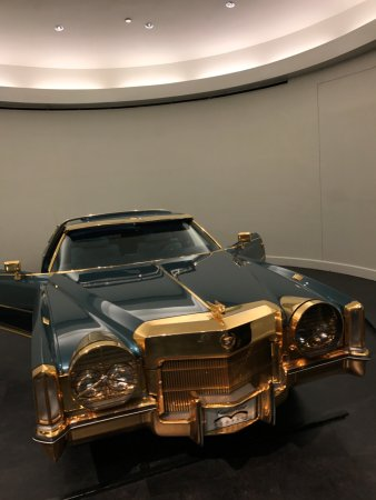 Stax Museum of American Soul Music: Isaac Hayes Cadillac with 24 carat gold plating......