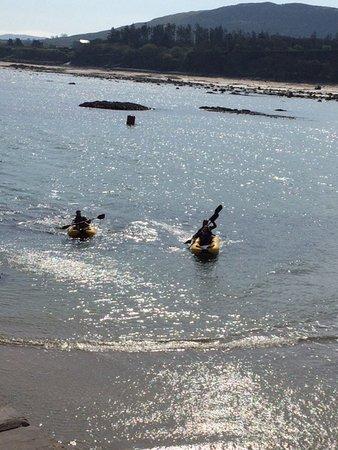 Louisburgh, Irland: Kayaking