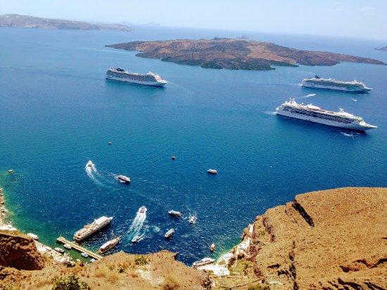 Monolithos, Greece: Santorini Old Port