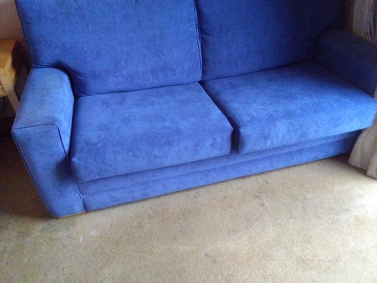 Donabate, Irland: Stained Sofa bed