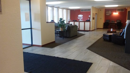 Brookings, Dakota del Sur: Lobby & Business Center