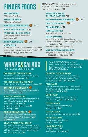 Freeport, IL: Appetizers, Salads, Wraps & Soup