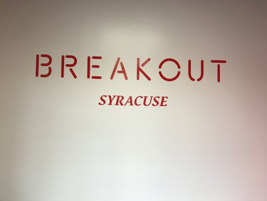 Breakout Games - Syracuse