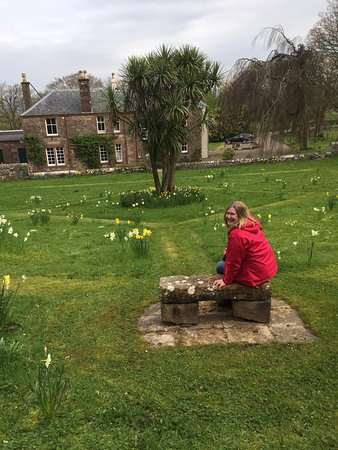 Campbeltown, UK: In the original estate garden