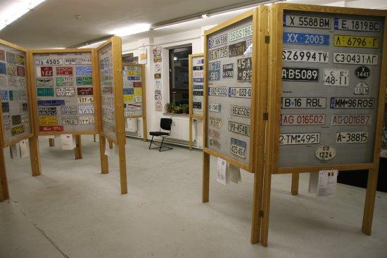 Museum für Nummernschilder, Verkehrs- und Zulassungsgeschichte