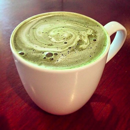 Woodstock, VT: Green Tea Latte