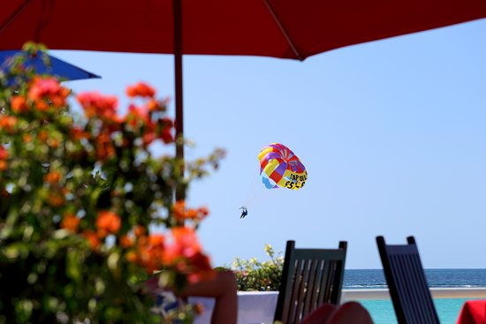 Negril Palms Hotel: Up Up and away.