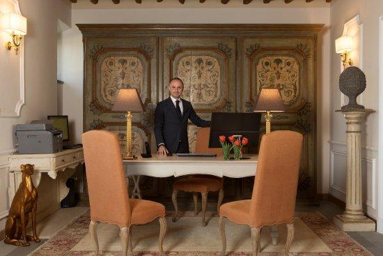 Montespertoli, Italien: Hotel Lobby