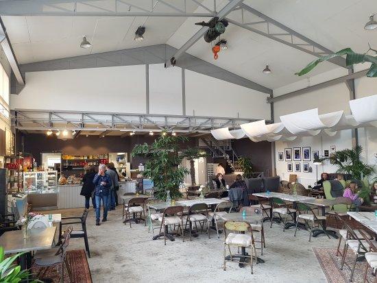 Eslöv, Zweden: Entrén och interiör