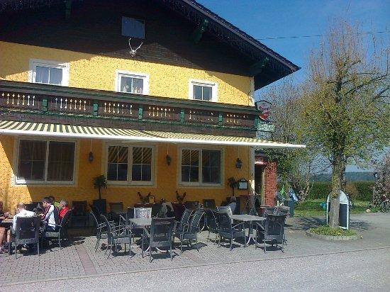 St. Georgen, Германия: der gastgarten