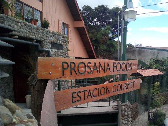 San Pedro, Kostaryka: Restaurant 's entrance