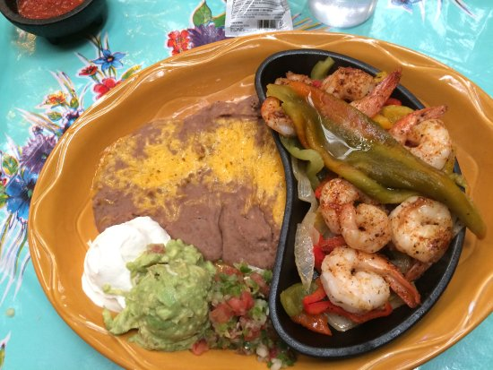 Mesilla, NM: Shrimp Fajita