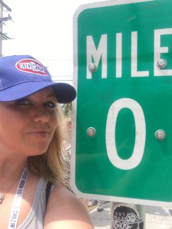 Photo of Monument / Landmark US 1 Mile Marker 0 at 490 Whitehead St, Key West, FL 33040, United States