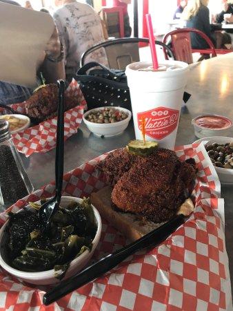 Photo of American Restaurant Hattie B's Hot Chicken at 5209 Charlotte Pike, Nashville, TN 37209, United States