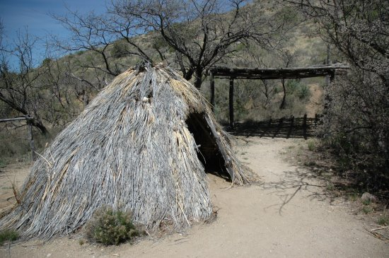 Fort Bowie National Historic Site: Native American Hut