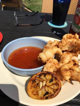 Fulton, TX: Calamari
