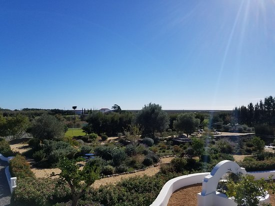 Moncarapacho, البرتغال: View of the grounds from the rooftop terrace