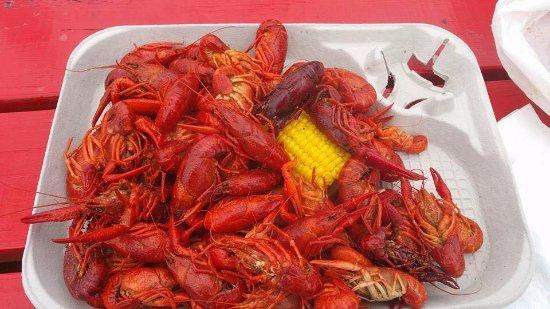 Huntsville, TX: Amazing crawfish!