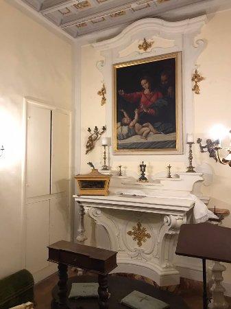 Castello di Meleto: Капелла