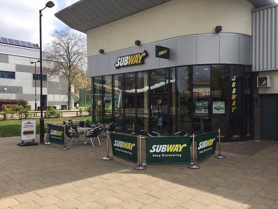 Haverhill, UK: Outside Eating Area