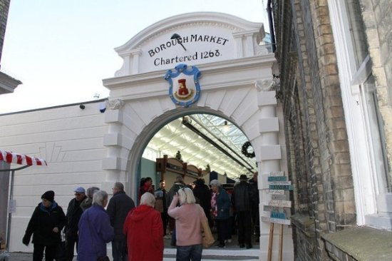 Gravesend, UK: The wonderful old entrance to the market