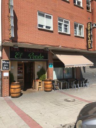 Orcoyen, Spanien: Restaurante El Prado