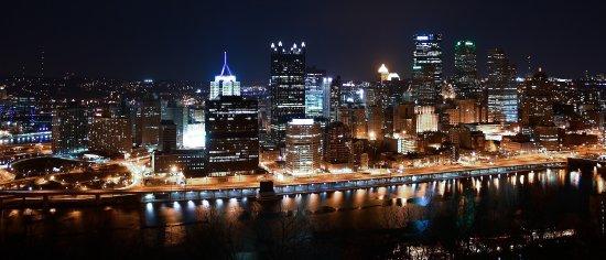 View of Pittsburgh from Mount Washington
