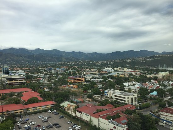 The Jamaica Pegasus Hotel: A view from the roof
