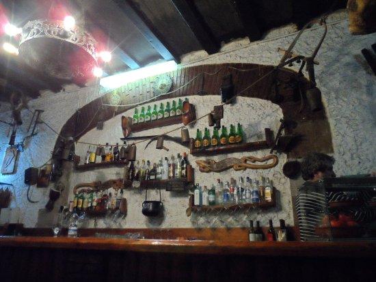 Casa del Molinero: Il bancone