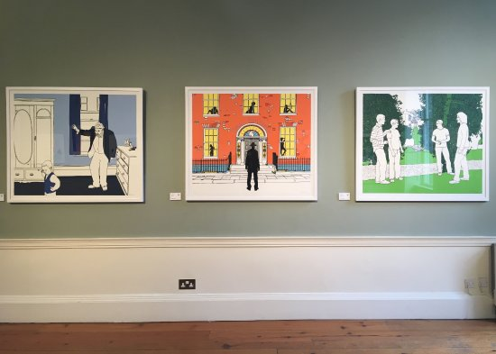 James Joyce Cultural Centre: Frank Kiely's Portrait screen prints