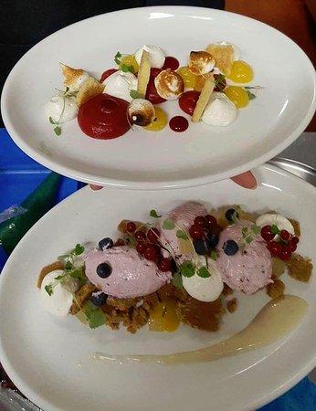 Lockerbie, UK: Two of our popular desserts